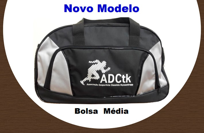 Chegaram bolsas e mochilas na ADCtk