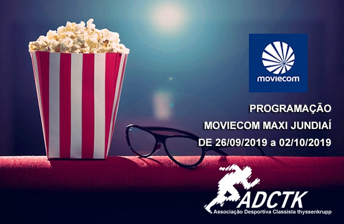 Programação Moviecom – Maxi Shopping de 26 de setembro à 02 de outubro